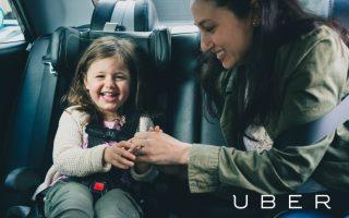 Стоимость и условия вызова такси с детским креслом Uberkids