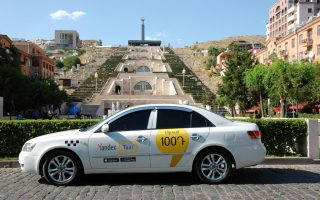Как устроиться водителем в Яндекс Такси Армения