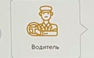 электронный профиль водителя такси
